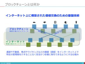 【講演資料】ブロックチェーン